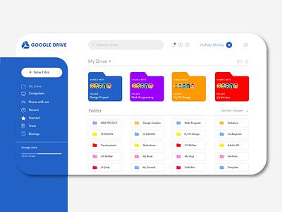 Google Drive Redesign webdesign redesign google drive google