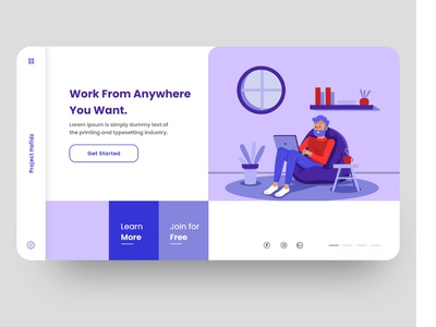 Work From Home webapp webdesign workfromhome home working space work corona wfh
