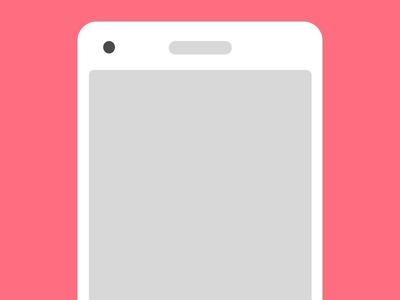 colored mobile frame - Mobile Frame
