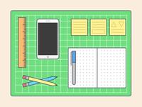 A Designer's Workspace