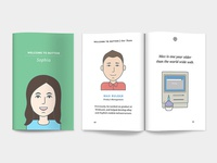 The Button Welcome Book