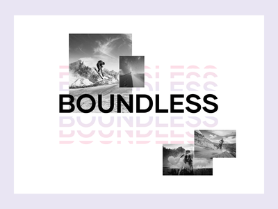 Boundless Exploration 1 design exploration visual brand branding extreme sports concept exploration brand