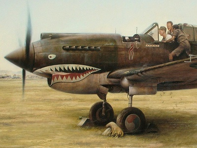 Shark Sighting- Flying Tigers in WWII