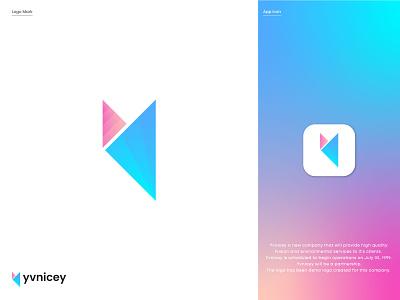 Modern Y Logo Design gradient logo modern colorful y logo branding logo mark abstract logo brand identity logo design logo designer gradient app modern design modern logo colorful graphic design professional logo modern logo design