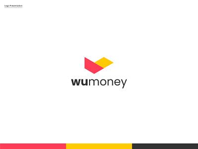 Wumoney Logo Design logotype flying bard logo flying bard logo modern wumoney logo logo mark abstract logo brand identity logo design logo designer app creative graphic design branding