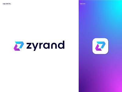 Modern Z Logo Design logo alphabet logo design modern branding logo mark abstract logo brand identity logo design logo designer gradient app modern design modern logo colorful graphic design professional logo modern logo design