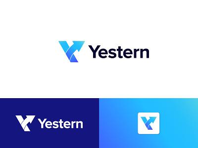 Yestern logo logo design logo negative space tech logo arrow gradient ecommerce app logo startup digital agency abstract modern y y logo brand identity branding y letter logo a b c d e f g h i j k l m n o p q r s t u v w x y z t h e q u i c k b r o w n f o x unfold