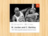 Sleek Gallery Thumbnail (Free PSD)