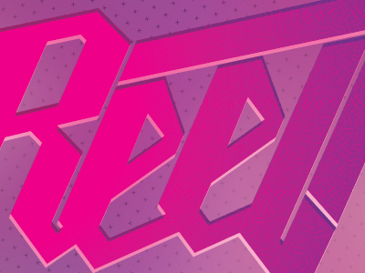 0009 reel type patterns gradient pink illustrator