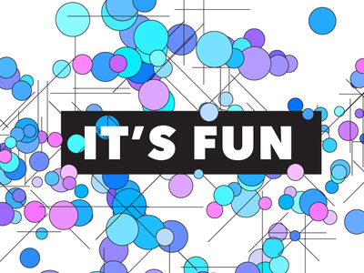 it's fun illustrator geometric