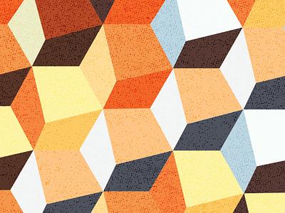 Uneven Cubes vector uneven cubes pattern