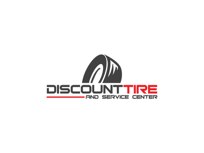 Discount Tire clean minimal branding logo
