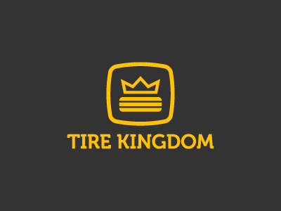 Tire Kingdom kingdom tire branding logo