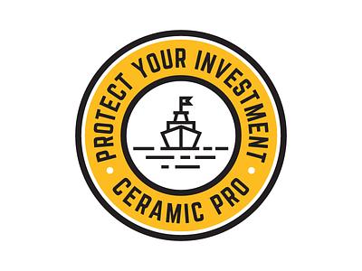Ceramic Pro badge design ceramic pro design badge