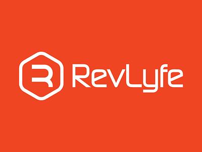 RevLyfe Logo Design app revlyfe branding brand logo
