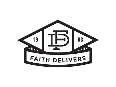 Faith Delivers faith delivers shirt design logo