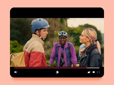 Netflix   Shopping & Travel mode interface sketch principle design animated ux ui