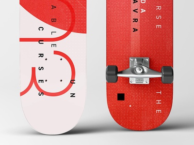 03 The Killing Curse: Avada Kedavra | The Unforgivable Curses typography type design graphic design skateboards skateboard