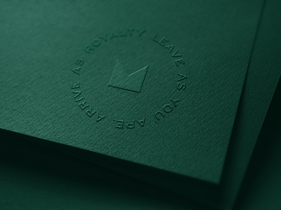 Emerald by Emirates Logo logomark logotype embossed embossing emboss type logo branding print identity system graphic design brand typography