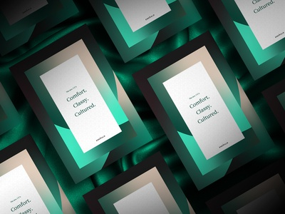Emerald by Emirates promotional poster identity rebrand identity design type print identity system branding brand poster typography graphic design