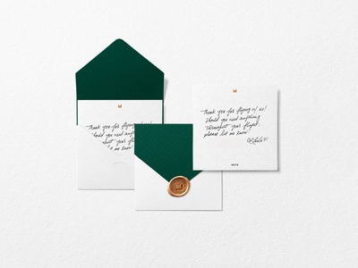 Emerald by Emirates Notecard wax seal notecard design notecard visual identity logo identity type design rebrand identity design type print identity system branding brand graphic design typography