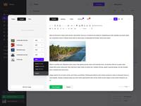 Content editor modal 📖