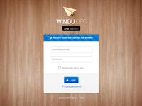 Windu password receive