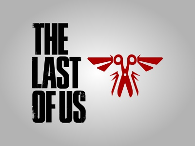 New logo The Last Of Us 2 game design tlou playstation ps4 ps5 game