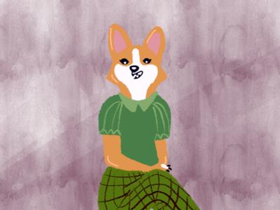 Waiting illustration design illustrator desin