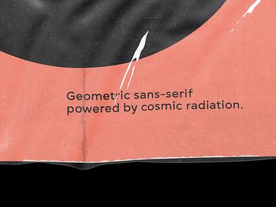 Gogh's plastic wrap visual graphic typography 3d