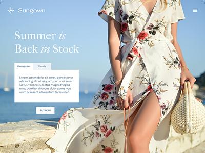 Back in stock product page product ecommerce design dailyui ui  ux uiux website uidesign ui design ui