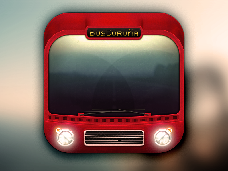 App icon bus coru a