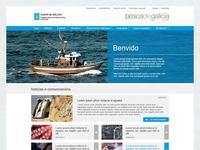Pesca de Galicia: Fisheries Web