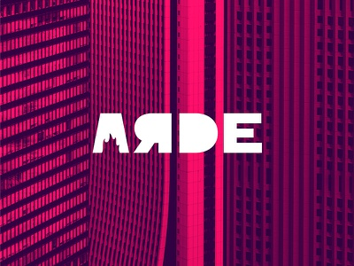 ARDE - App Marketing Agency Logo marketing logotype logo design logo illustrator fuego fire burnt burn branding brand identity brand arde