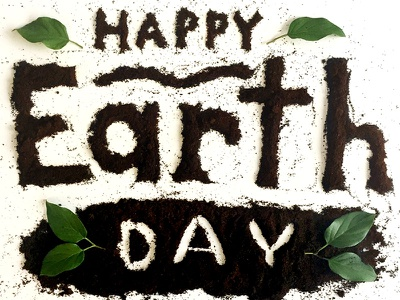 Earth Day IG Post hand made social media instagram earth typography lettering earth day