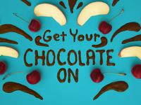 Chocolate Typography
