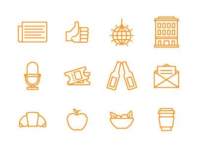 Unbounce Conversion Roadtrip Icons design icons roadtrip marketing illustration conversion