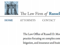 Homepage Hed for Legal Client