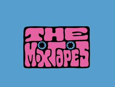 The Mixtapes tshirtdesign tshirt mixtape tape cassette player cassette tape cassette logodesign itsjerryokolo digitalart jerryokolo lettering logo designer custom lettering handlettering logotype procreate clientwork hand drawn typography