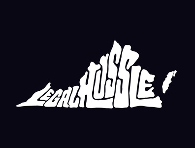 Legal Hussle clothing virginia tshirtdesigner jerryokolo tshirtdesign itsjerryokolo logodesign lettering logo designer custom lettering handlettering logotype procreate clientwork typography hand drawn