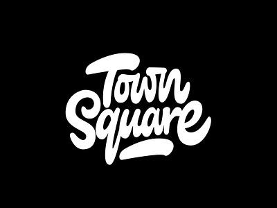 Town Square beambox logo designers logotype designer logo design brush lettering brushscript wifi blog square logotype digitalart procreate itsjerryokolo jerryokolo typography lettering illustration logo designer custom lettering