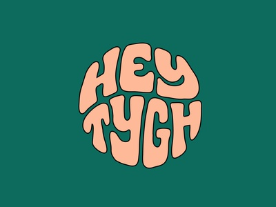Hey Tygh clothing label clothes artist tshirt tshirtdesign speech clothing brand clothing itsjerryokolo jerryokolo logotype designer lettering logo designer custom lettering logotype procreate clientwork hand drawn typography