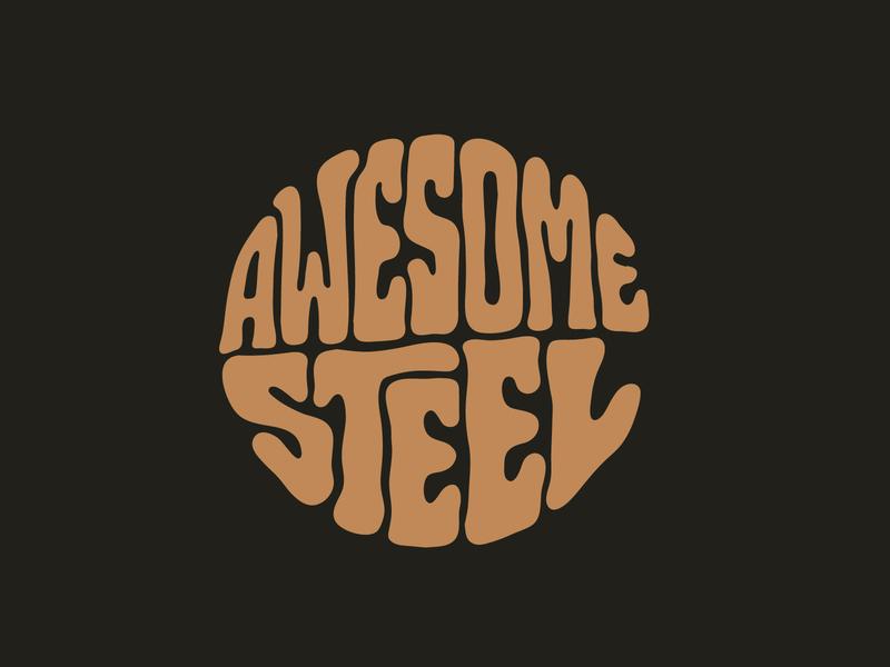 Awesome Steel tshirtdesign tshirt engineering engineer typography art handlettering steel custom lettering procreate digitalart itsjerryokolo jerryokolo logodesign lettering clientwork hand drawn typography
