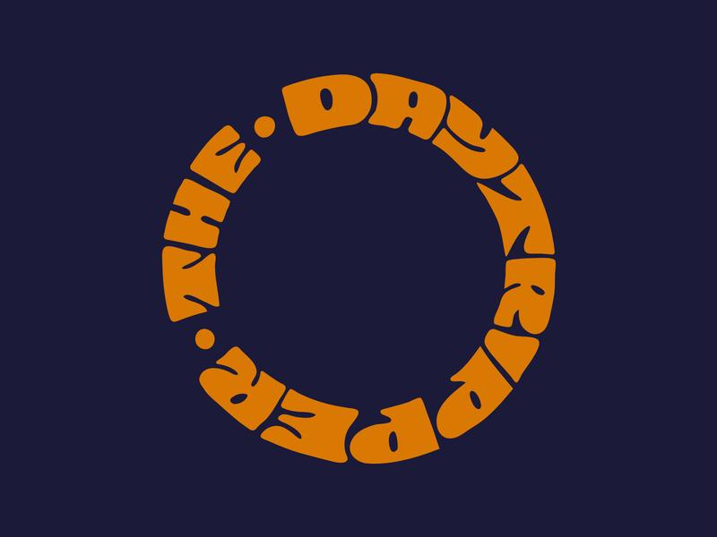 The DayTripper clothing kids toy travel day trip type yoyo logo designer handlettering logo digitalart itsjerryokolo jerryokolo logotype procreate clientwork hand drawn typography