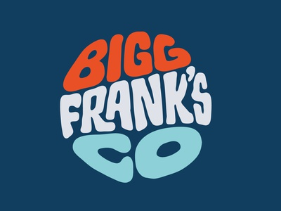Big Franks Co redbubble cottonbureau threadless teespring art tshirt design tshirtdesign tshirt art tshirt custom lettering digitalart itsjerryokolo logodesign lettering jerryokolo procreate clientwork typography hand drawn