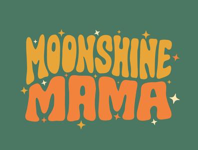 Moonshine Mama tshirt tshirtdesign moonshine drawing handdrawn logo custom lettering logodesign logo designer logotype procreate clientwork illustration branding typography hand drawn