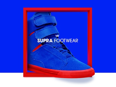 Supra Footwear shoe supra mobile website sneaker ux ui