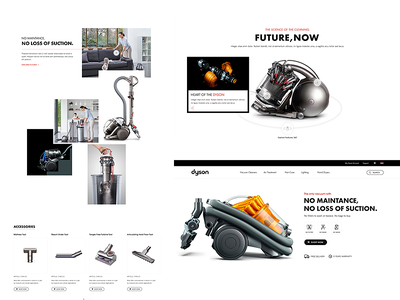 Dyson home cleaning vacuum dyson redesign website