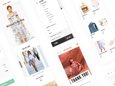 Villoid ux ui website checkout process web app design e-commerce