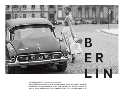 A Global Luxury Online Magazine typography magazine clean website ux ui